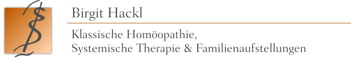 Birgit Hackl - Klassische Homöopathie, Systemische Therapie & Familienaufstellungen - Indikation: chronische Erkrankungen